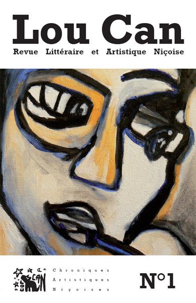 Ci-dessus le numéro 1 de la revue sur le thème de l'Aube avec une couverture illustrée par Eve Carton.
