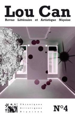 """La couverture du Lou Can 4 illustrée par une création numérique d'Aazclairicia intitulée """"Frontière""""."""