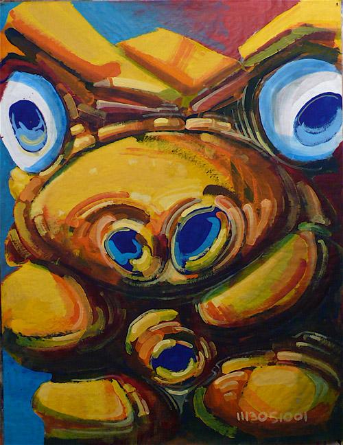 Une peinture de Laurent Bosio à l'occasion du Lou Can 5