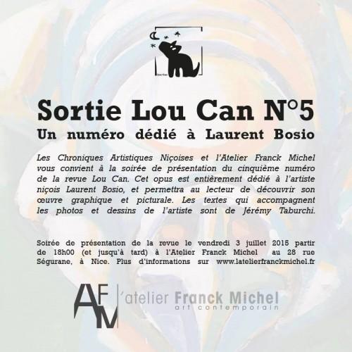 Sortie du Lou Can 5 dédié à Laurent Bosio