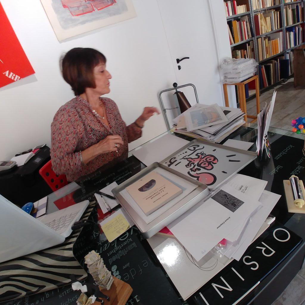 Laura Matarasso et l'estampe de Jérémy Taburchi