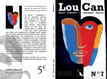 Revue Lou Can 7 couverture Maurice Maubert
