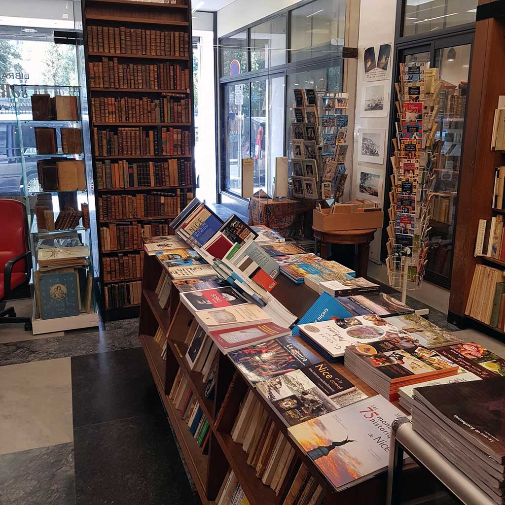 Librairie à Nice